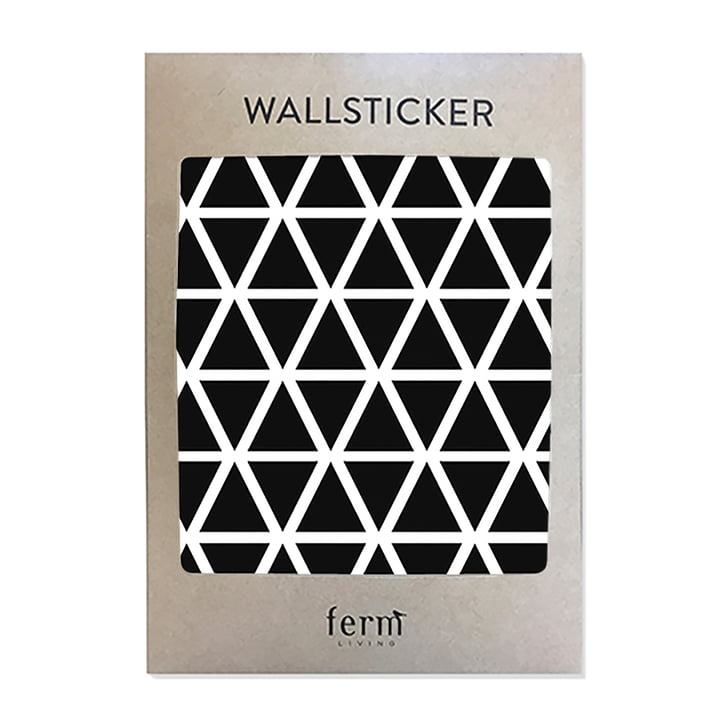 Mini Wall Stickers by ferm Living in black