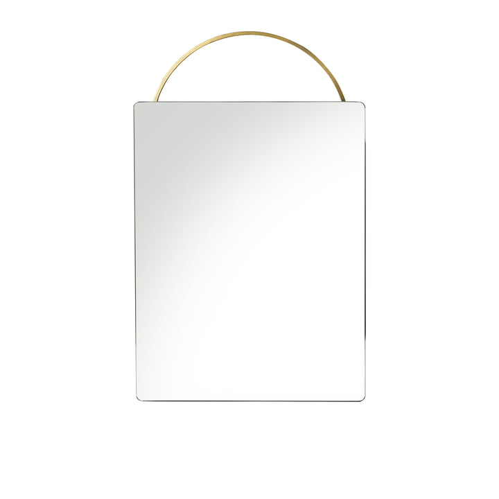 Adorn brass mirror 35 x 53 cm by ferm Living