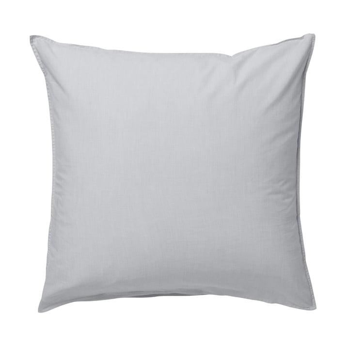 Hush pillowcase 80 x 80 cm by ferm Living in grey