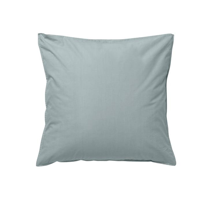 Hush pillowcase 63 x 60 cm by ferm Living in dusty blue (DK)