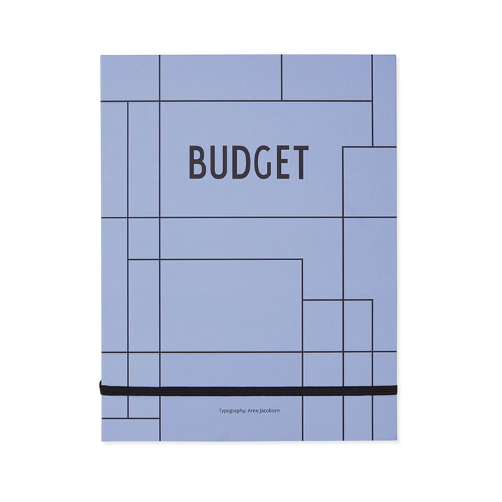 Budget Book by Design Letters