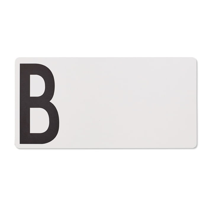 Chopping board B (bread) by Design Letters in grey