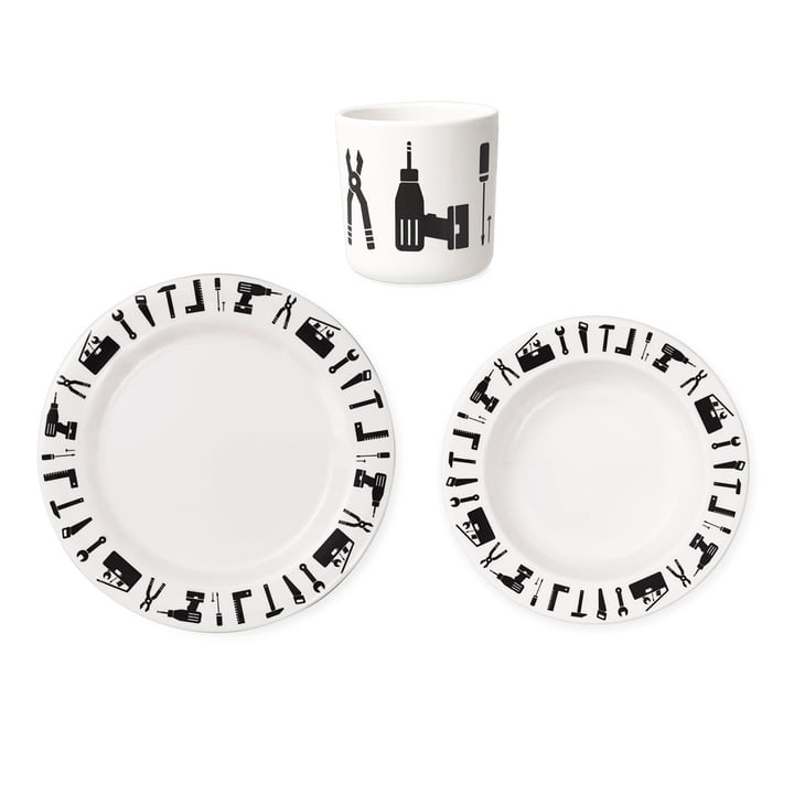 Tool School Melamine Set by Design Letters