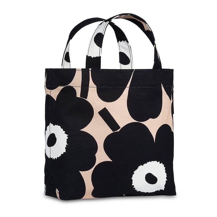 Unikko Veronika Bag by Marimekko in black / white