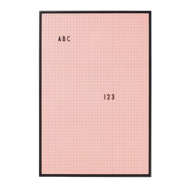 Message Board A2 by Design Letters in pink