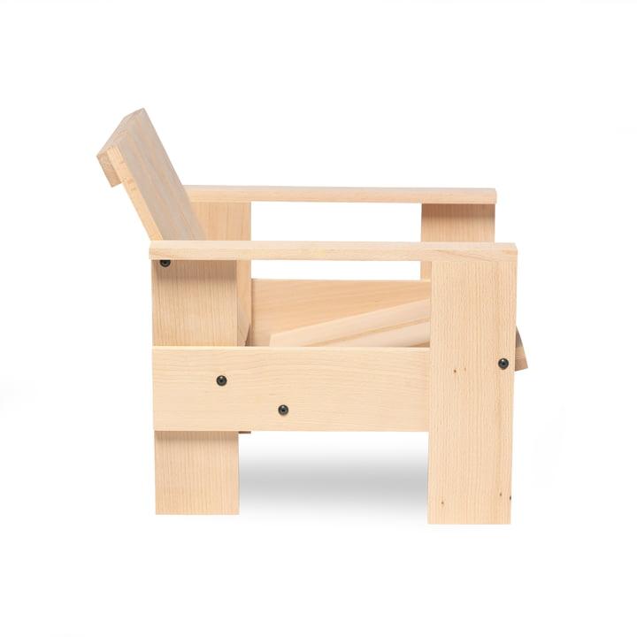 Spectrum - Gerrit Rietveld Junior Crate Chair, natural
