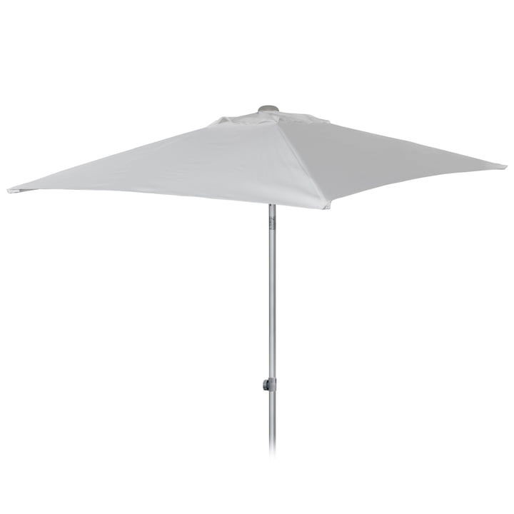 Elba parasol 200 x 200 cm by Jan Kurtz in white