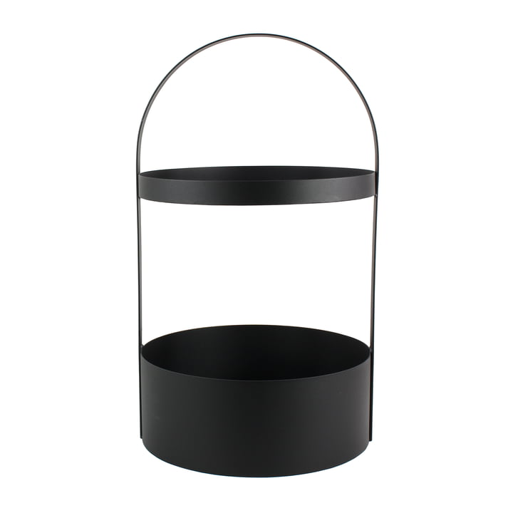 Polytable Side Table by Jan Kurtz in black