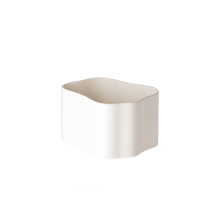 Riihitie planter (shape B) in small from Artek in white