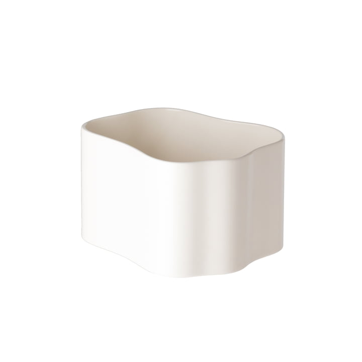Riihitie planter (shape B) in large from Artek in white