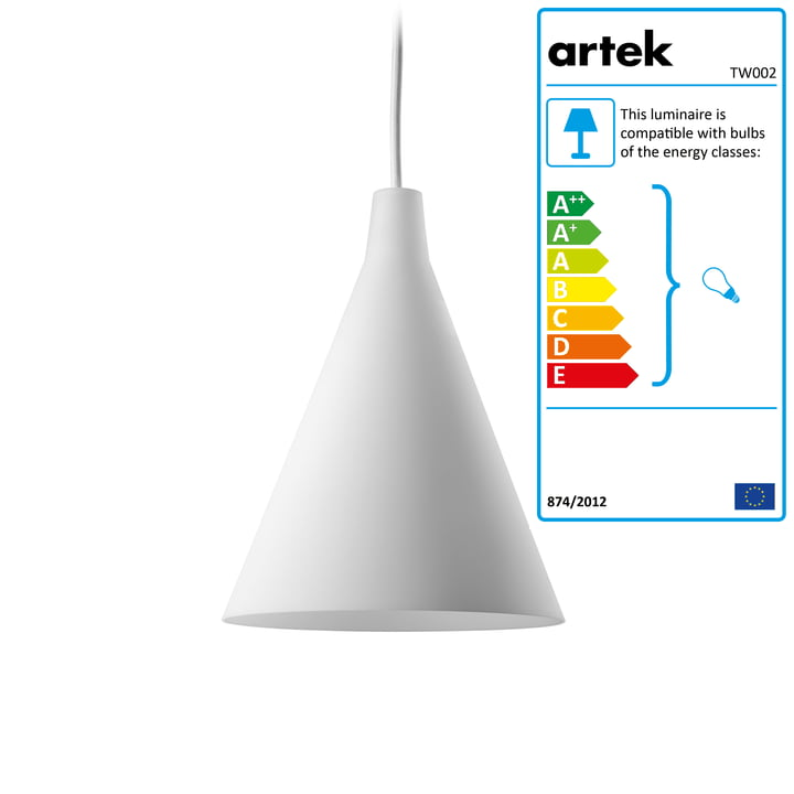 Artek - Triennale TW002 Pendant Lamp, white