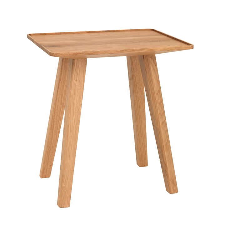 Nini Stool & Side Table by Schönbuch in Oak with a Natural Oiled Finish.