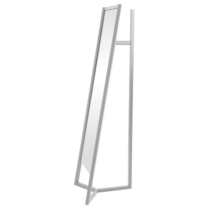 Club Mirror Coatrack by Schönbuch in Grey-White
