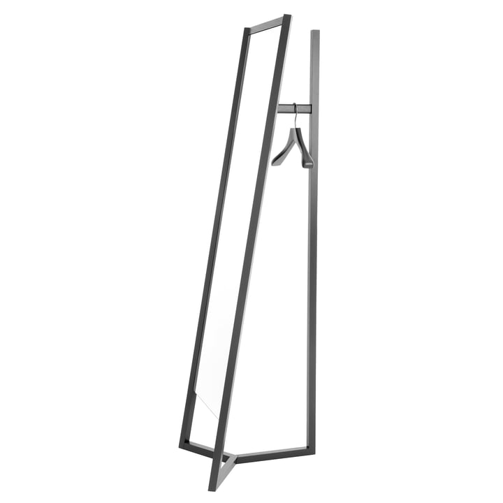 Club Mirror Coatrack by Schönbuch in Black