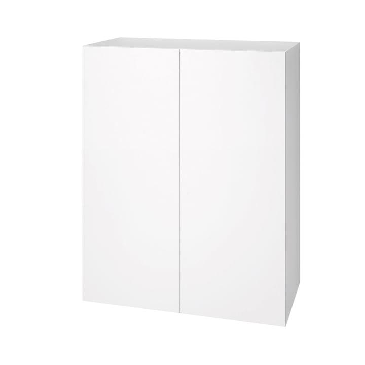 Urban Dresser 1071 (80 cm, 2 doors) by Schönbuch in snow white (RAL 9016)