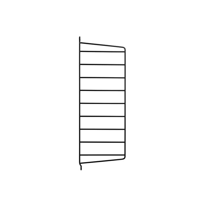 Wall Ladder for String Shelf 50 x 20 cm from String in Black
