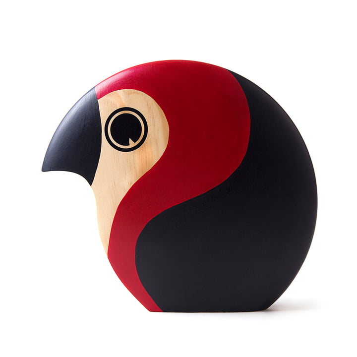 Hand Painted Wooden Bird by ArchitectMade