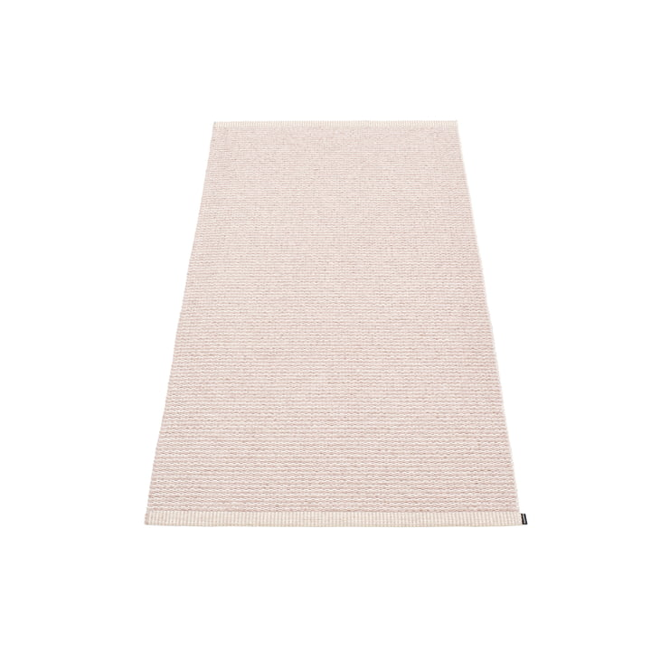 Mono carpet, 60 x 150 cm from Pappelina in Pale Rose / Ballet