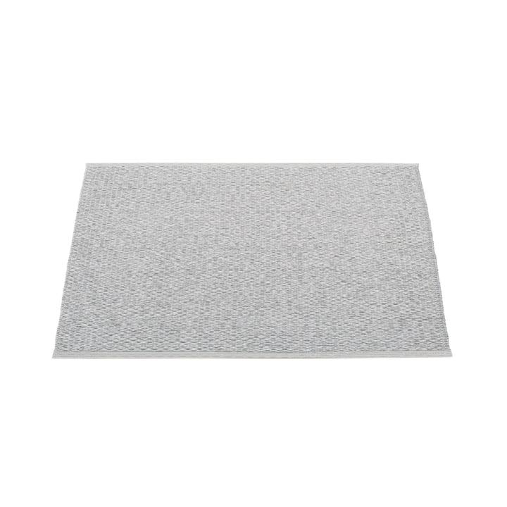 Pappelina - Svea rug, 70 x 50 cm, gray metallic / light gray