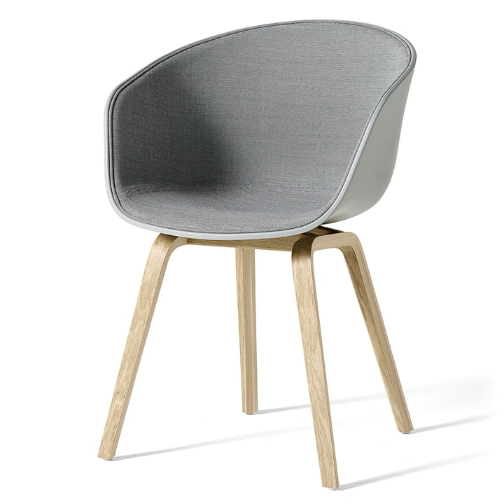 About A Chair AAC 22 with interior upholstery by Hay Concrete Gray