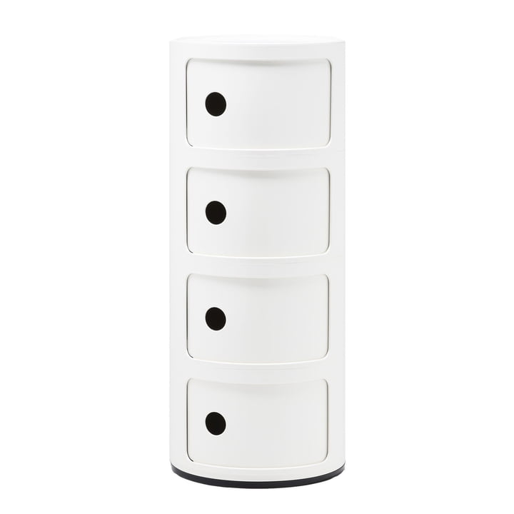 Componibili 4985 by Kartell in white