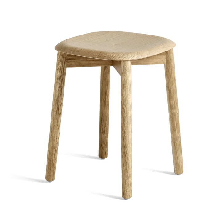 Soft Edge 72 Stool by Hay in Matt Lacquered Oak