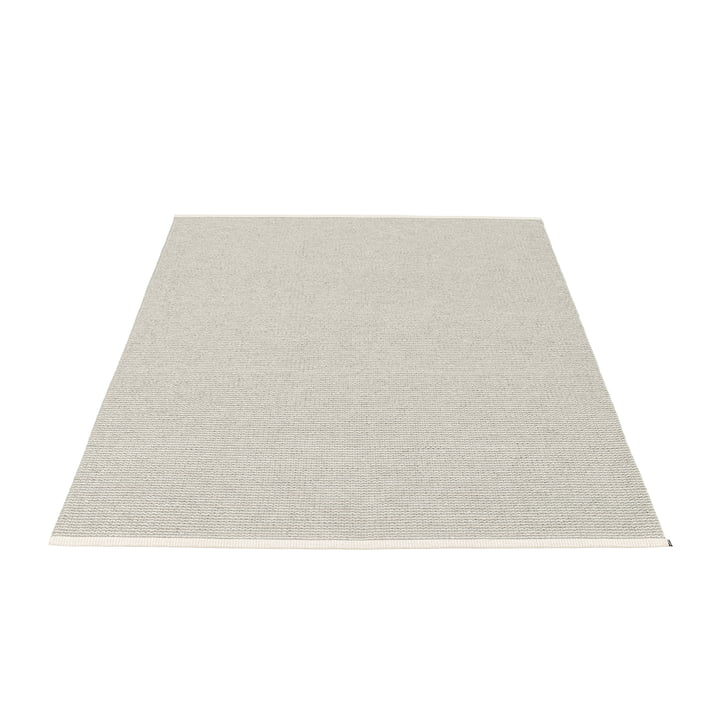 Mono Rug 140 x 200 cm by Pappelina in in Fossil Grey / Warm Grey