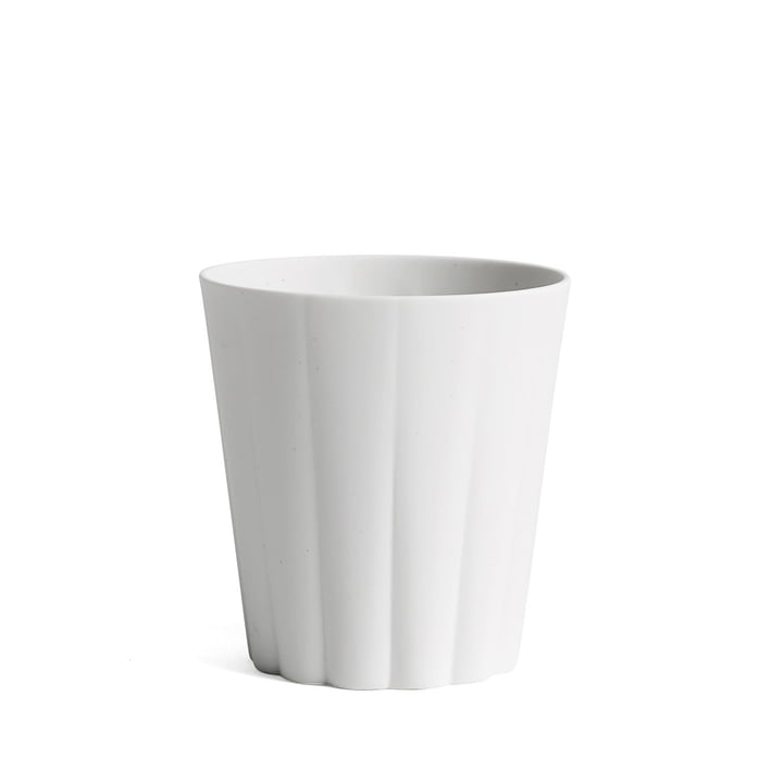 Hay - Iris Mug round, cream white
