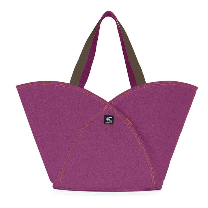 Terra Nation - Pua Kopu beach bag, purple