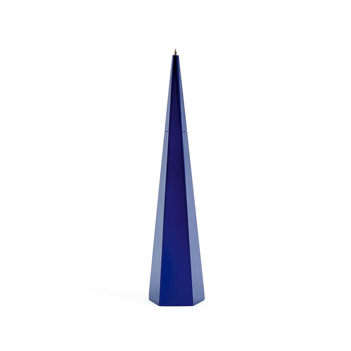 Standing Pen by Areaware in Blue Pentagon