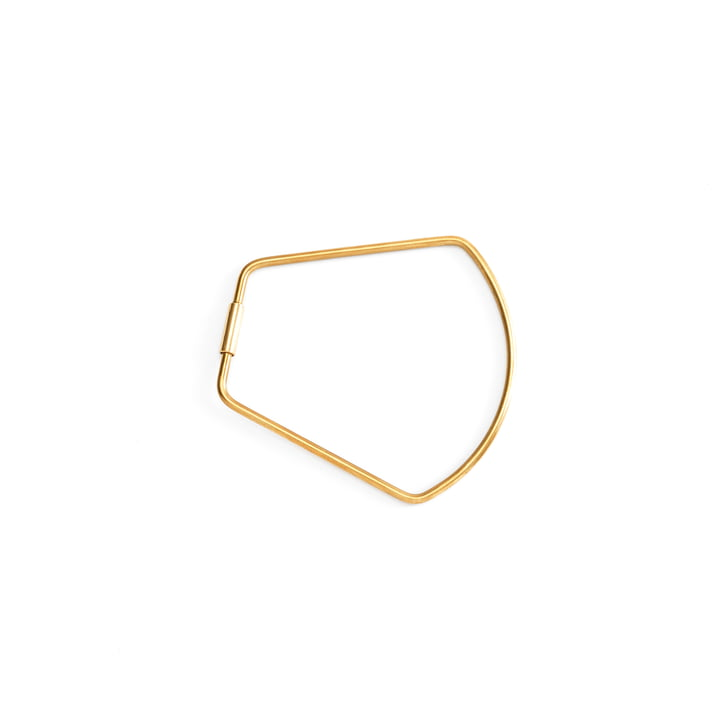 Contour Bell Keyring by Areaware