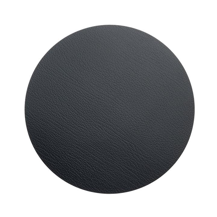 Hot Mat Circle M Trivet Ø 30 cm by LindDNA in Bull Anthracite (3 mm)