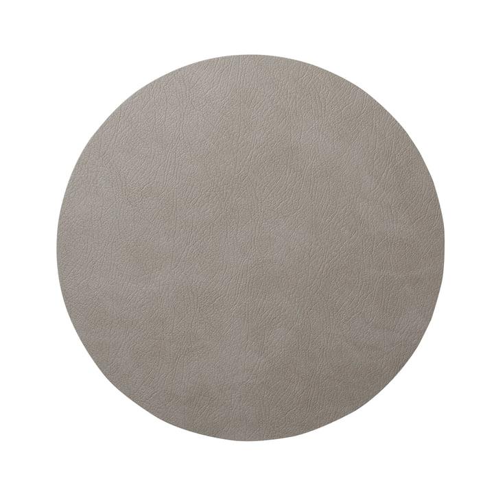 Hot Mat Circle M Trivet Ø 30 cm by LindDNA in Light Grey Bull (3 mm)