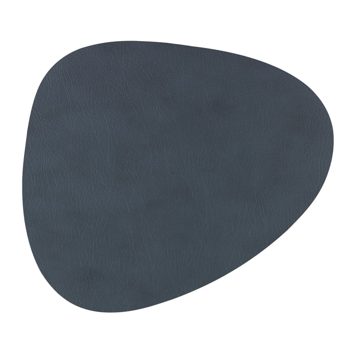 Hot Mat Curve Trivet 28 x 34 cm by LindDNA in Grey Cloud (3 mm)