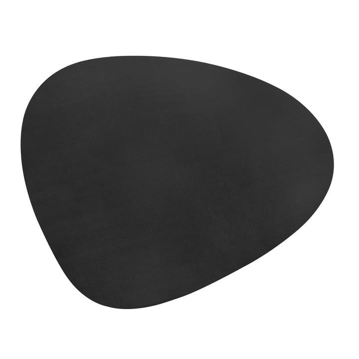 Floor Mat Curve XXXL 92 x 108 cm from LindDNA in Bull Black