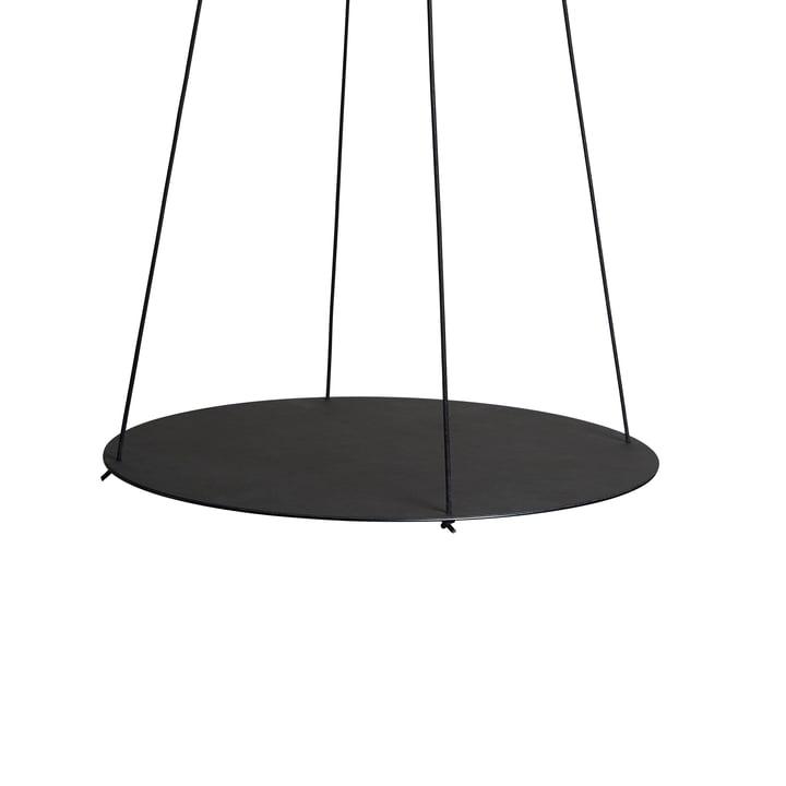 Pendulum Circle 40 cm to hang in black