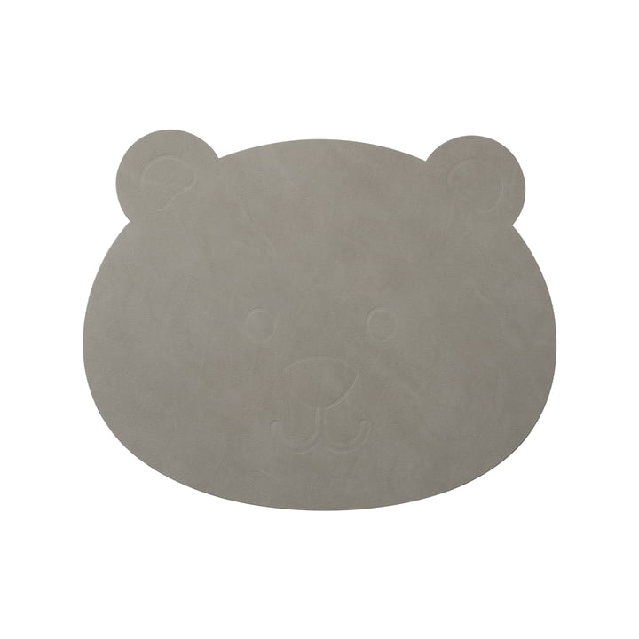 Children table set bear by LindDNA in Nupo light grey