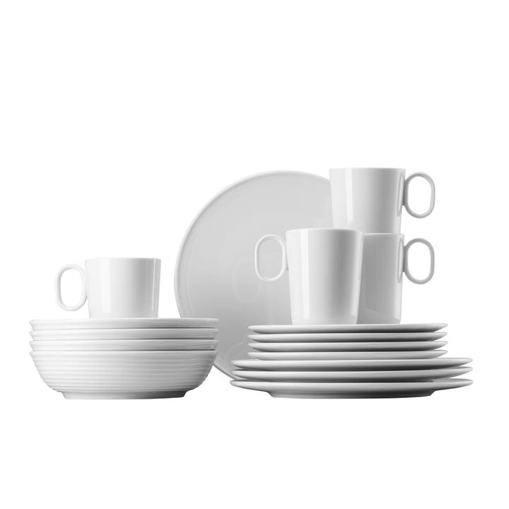 Ono Mug Set (16 PCs) by Thomas in White