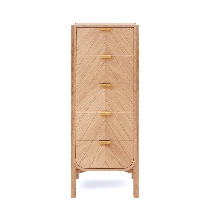 Marius chest of drawers 50 cm from Hartô in oak nature