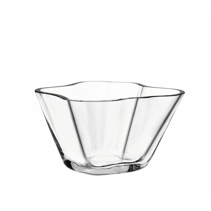 Aalto Bowl 75 mm from Iittala in Clear