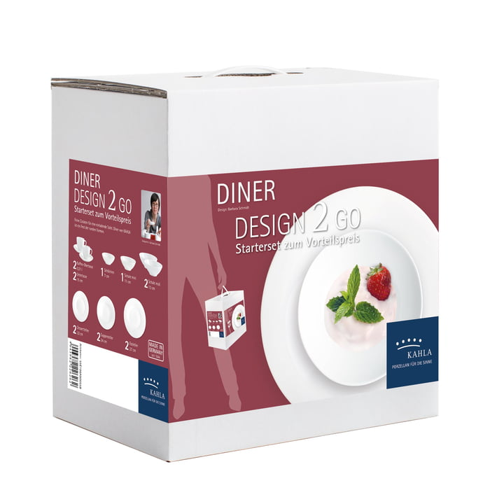 Dîner Design 2 Go Set by Kahla in White (14 pcs)