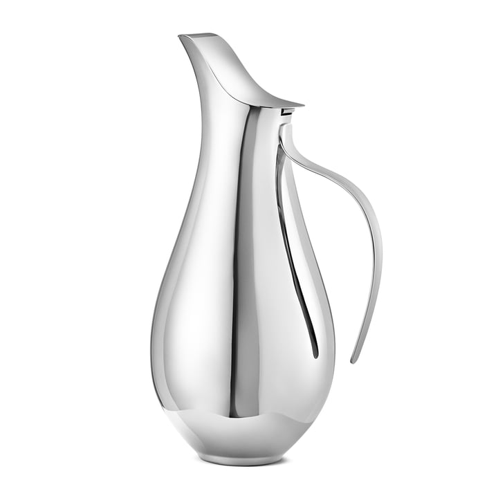 Ilse Jug by Georg Jensen out of Stainless Steel