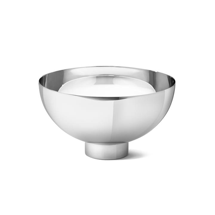 Ilse Bowl medium of Georg Jensen in stainless steel glossy