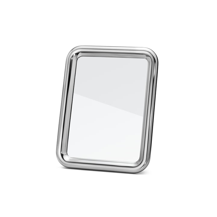 Tableau table mirror small by Georg Jensen in aluminium