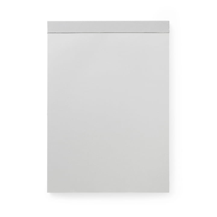 Writing pad big from Normann Copenhagen in silver grey