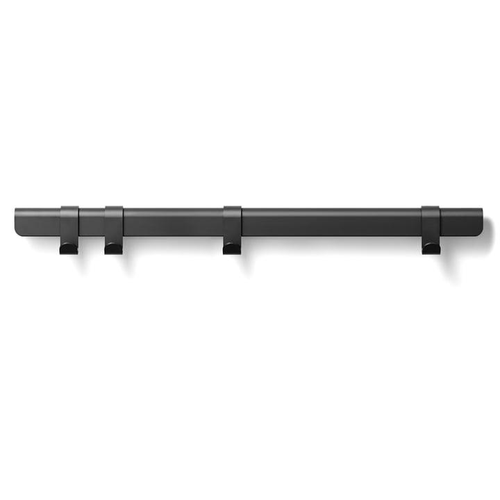 The Million - Hug Coat Rack, 90 cm / 4 hooks in black