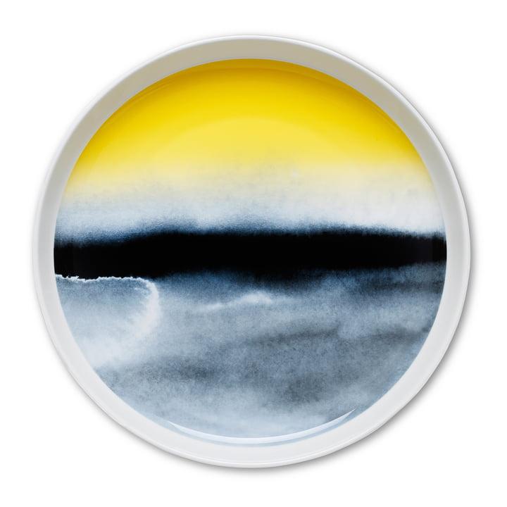 Sääpäiväkirja Ø 32 cm by Marimekko in yellow / blue