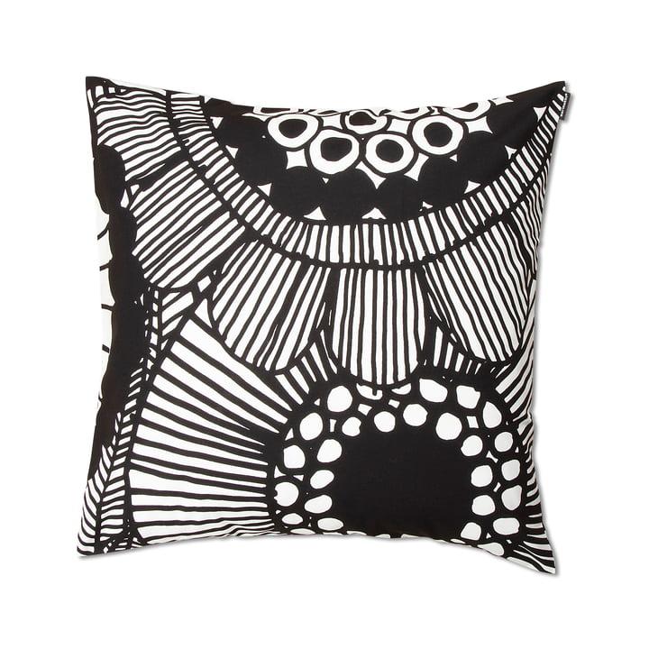 Siirtolapuutarha cushion Siirtolapuutarha 50 x 50 cm by Marimekko in black and white