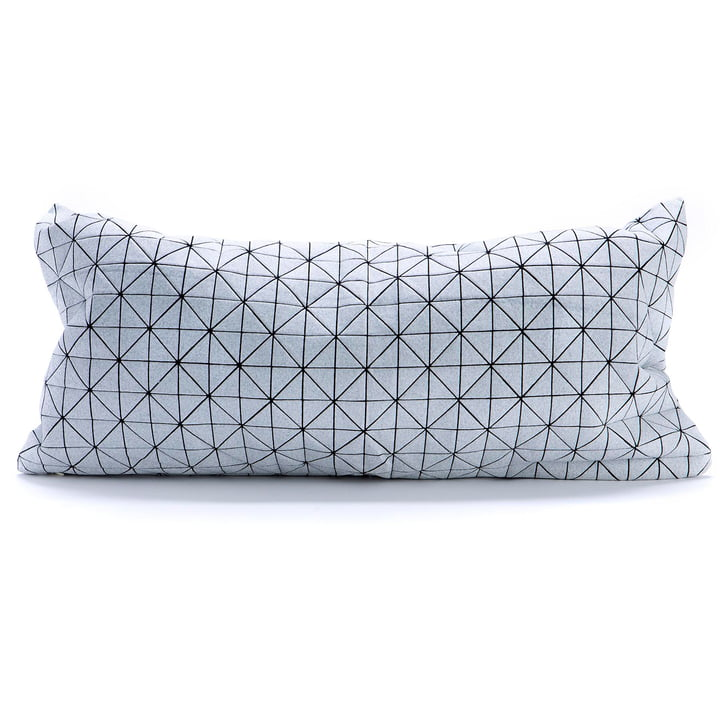 Mika Barr - Geo Origami cushion cover, 60 x 30 cm, black / white