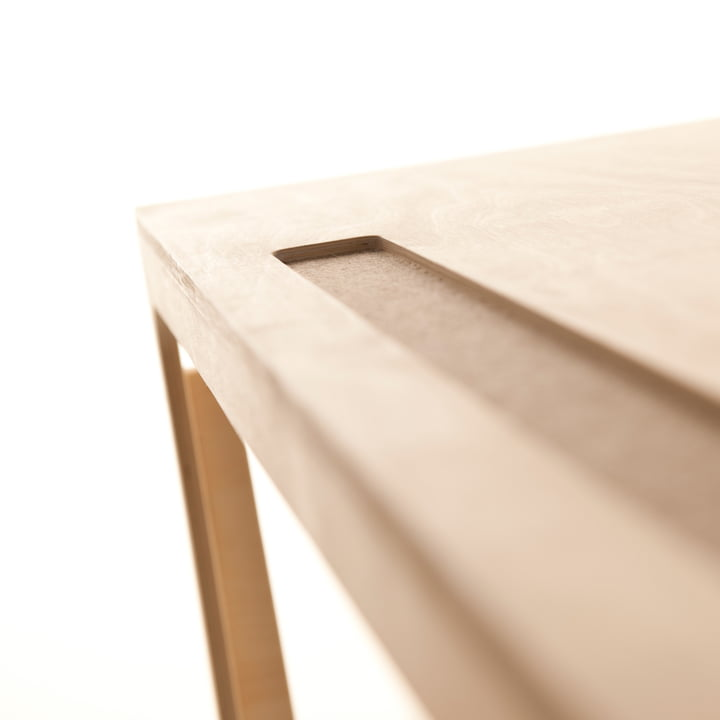 Pencil Groove in the Václav Kids Table